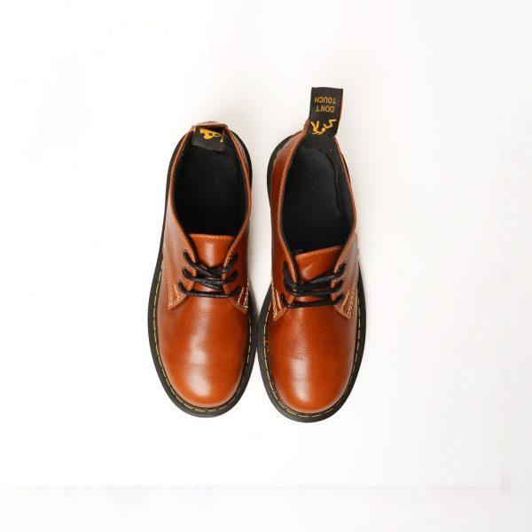 کفش فیوچر آستردار عسلی شبرو از بالا